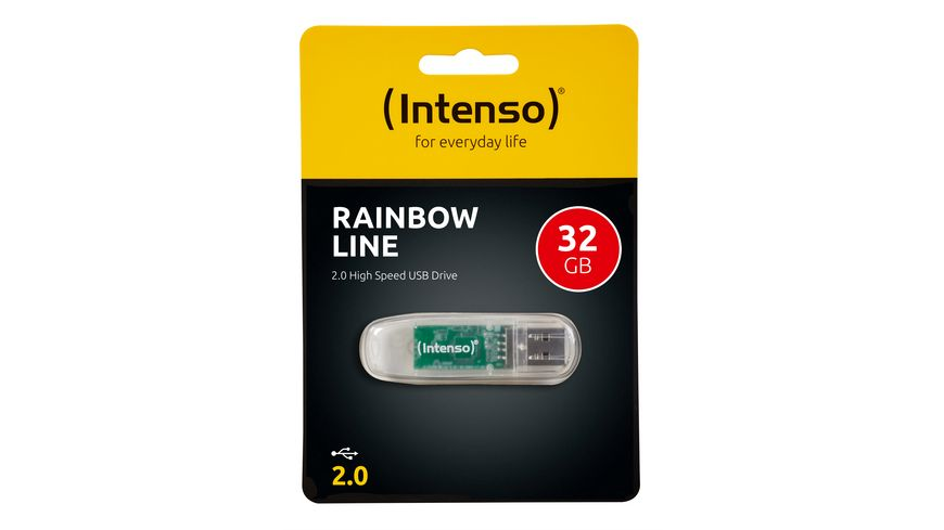 Intenso USB Stick Rainbow Line 32 GB