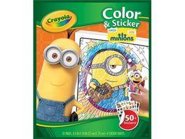Crayola Color Stickerbook Minions