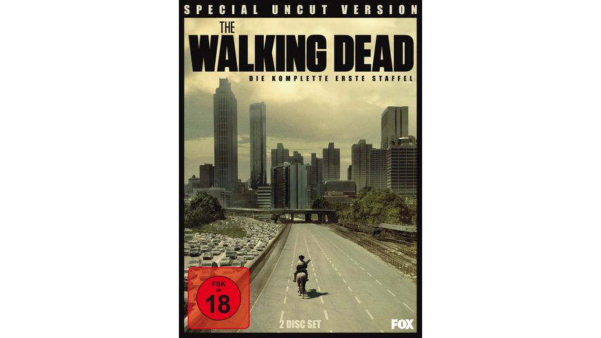 The Walking Dead Die komplette erste Staffel Special Uncut Version 2 Discs DVD
