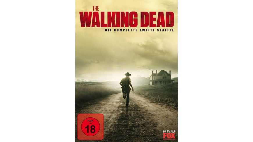The Walking Dead Die komplette zweite Staffel DVD