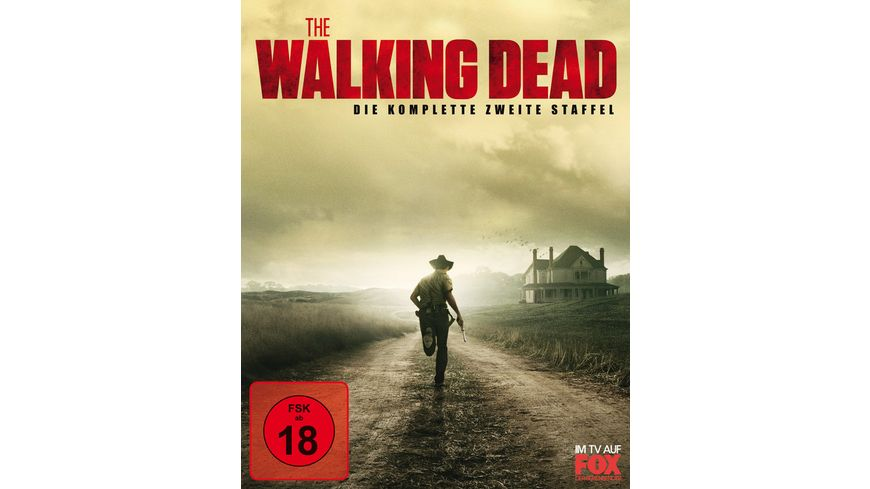 The Walking Dead Die komplette zweite Staffel Blu ray Disc
