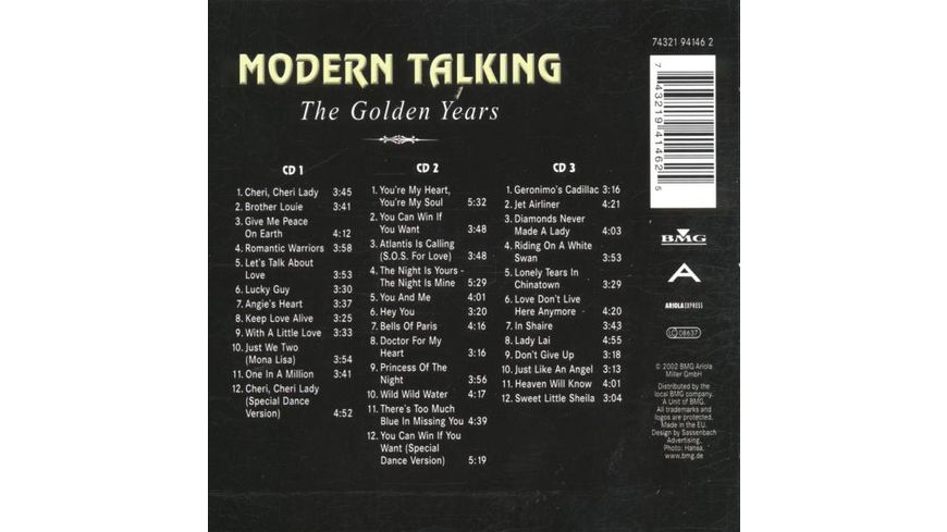 The Golden Years 1985 87