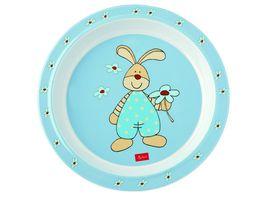 sigikid Melamin Teller Semmel Bunny