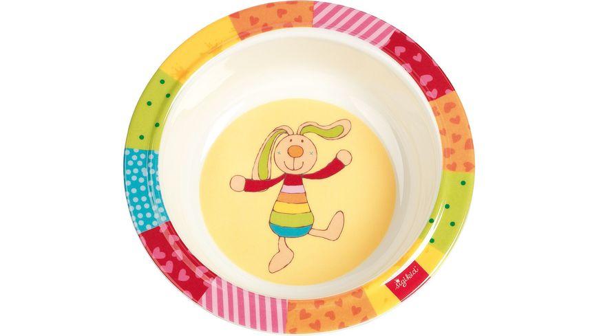 sigikid Melamin Schuessel Rainbow Rabbit