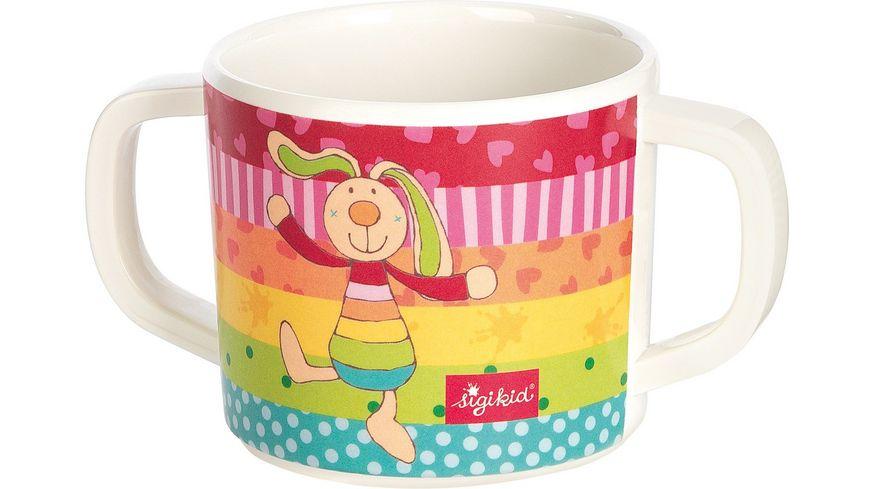 sigikid Melamin Tasse Rainbow Rabbit