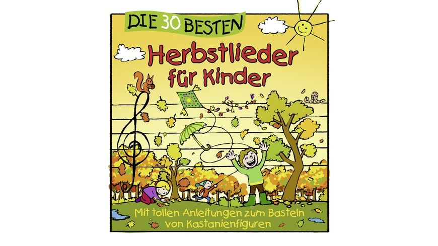 Die 30 Besten Herbstlieder Fuer Kinder