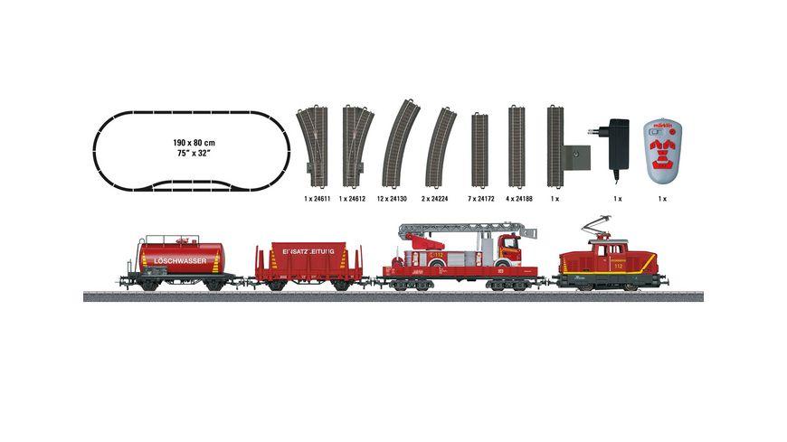 Maerklin 29752 Start up Startpackung Feuerwehr 230 Volt H0 DB Notfalltechnik
