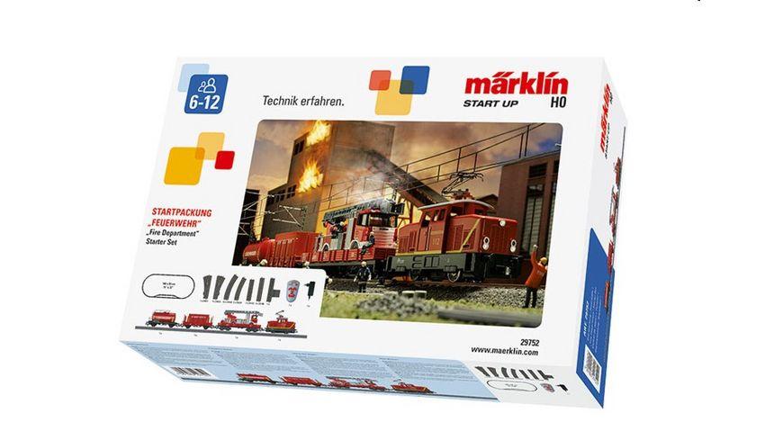 Maerklin 29752 Startpackung Feuerwehr 230 Volt H0 DB Notfalltechnik