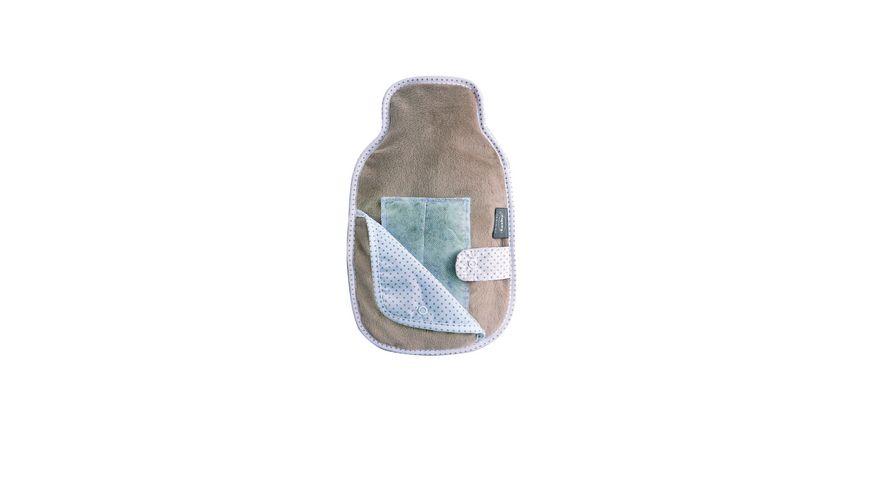 Fashy Bezogene Waermflasche 0 8 l mit Aroma Pad