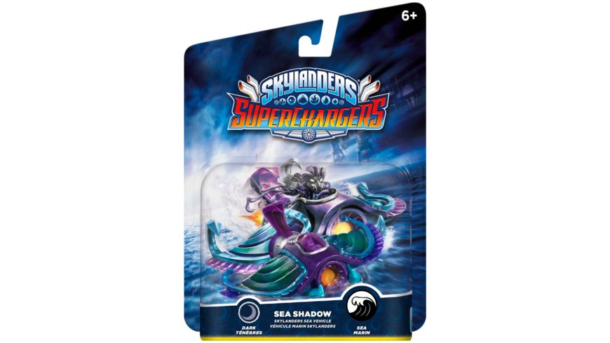 Skylanders Superchargers Fahrzeug Sea Shadow