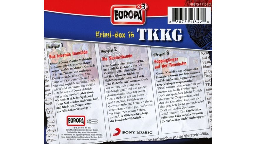 TKKG Krimibox 16