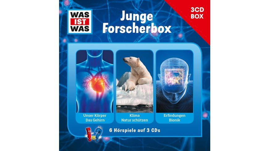 WAS IST WAS 3 CD Hoerspielbox Vol 4 Forscher