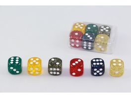 Weible Spiele 6 Wuerfel Glitter