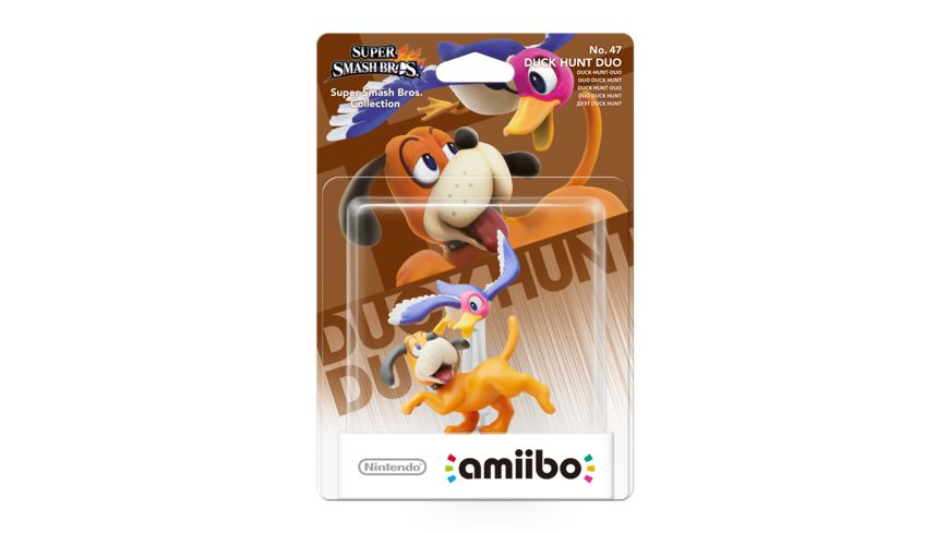 Amiibo Smash Figur Duck Hunt