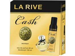 LA RIVE Cash Woman Eau de Parfum Deo Geschenkpackung