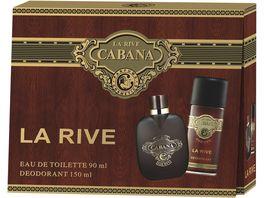 LA RIVE Cabana Eau de Toilette Deo Geschenkpackung