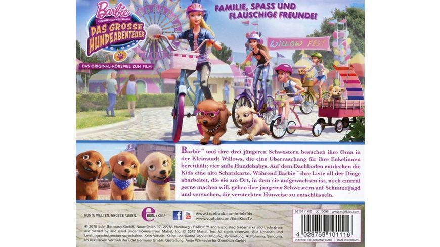 Barbie Und Schwestern Das Grosse Hundeabenteuer