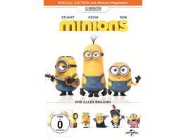 Minions Mueller exklusive Special Edition mit Minion Magneten DVD