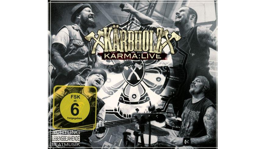 Karma Live 2CD DVD Digipak Set