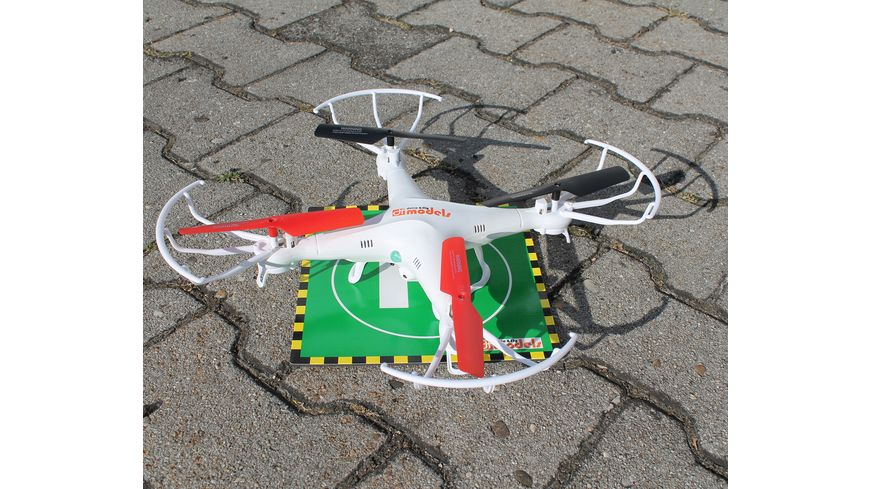 drive fly Copter Landepad