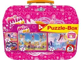 Schmidt Spiele Mia and me Puzzlebox im Metallkoffer