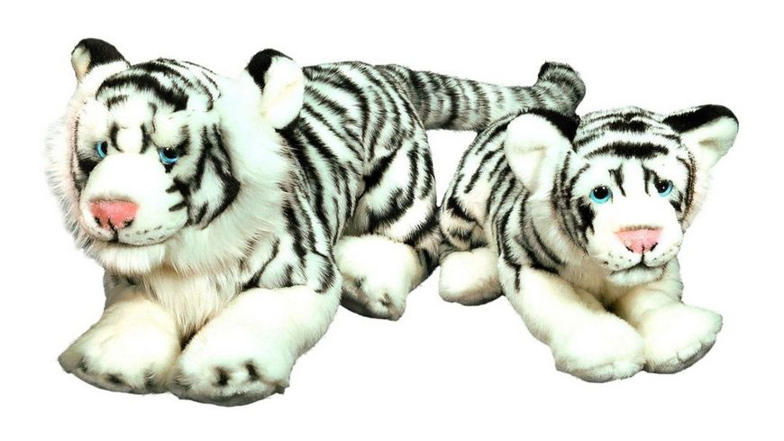 Bauer Blickfaenger Glitter Sibirischer Tiger liegend 46 cm