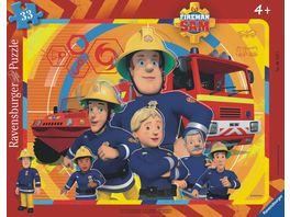 Ravensburger Puzzle Rahmenpuzzle Sam der Feuerwehrmann 33 Teile