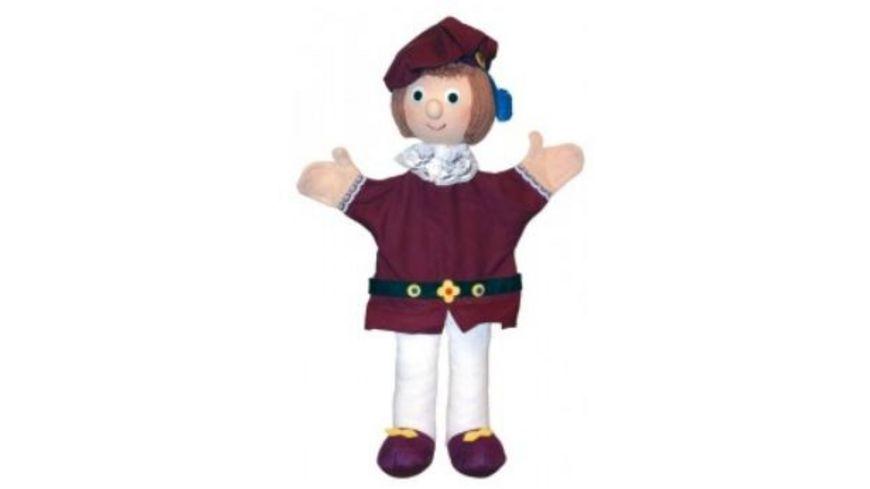 Trullala Prinz rot Handpuppe 40 cm