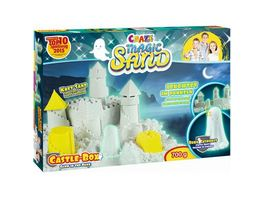 CRAZE Magic Sand Castle Box Glow in the Dark ca 700 g Sand