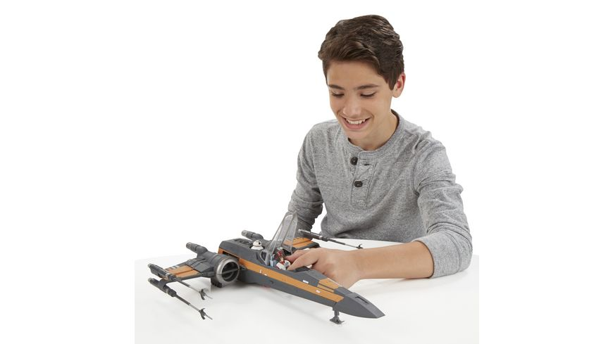 Star Wars Star Wars E7 Poe Damerons X Wing Fighter