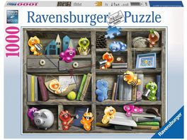 Ravensburger Puzzle Gelini im Buecherregal 1000 Teile