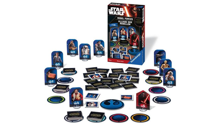Ravensburger Spiel Star Wars Allianz der Rebellen