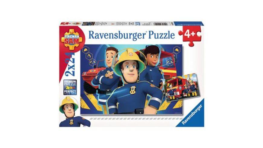 Ravensburger Puzzle Sam hilft dir in der Not 2x24 Teile