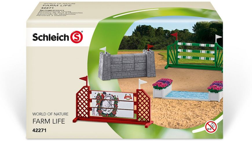 Schleich 42271 Horse Club Springparcours