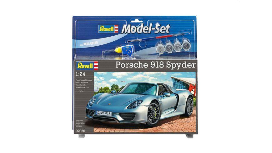 Revell 67026 Model Set Porsche 918 Spyder