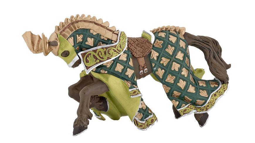 Papo Die Welt des Mittelalters Pferd des Waffenmeisters Drache