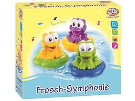 Mueller Toy Place Badespielzeug Frosch Symphonie
