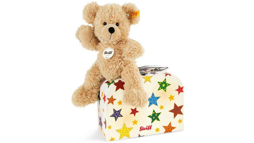 Steiff Fynn Teddybaer im Koffer 23 cm