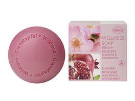 SPEICK Wellness Soaps Dusch Badeseife Wildrose Granatapfel