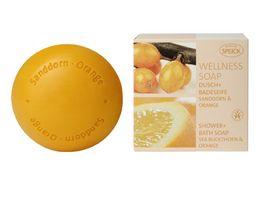 SPEICK Wellness Soaps Dusch Badeseifen Sanddorn Orange
