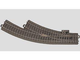 Maerklin 24672 H0 C Gleis Bogenweiche rechts R1 360 mm 30 nachruestbar