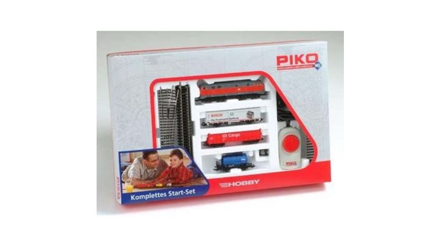 PIKO 57151 Start Set Hobby DB Cargo A B Gleis BR 218