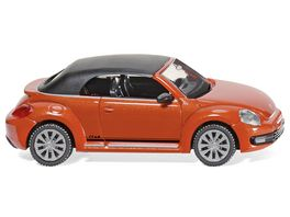 Wiking VW The Beetle Cabrio Club habanero orange metallic