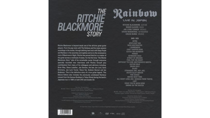 The Ritchie Blackmore Story Deluxe Edition