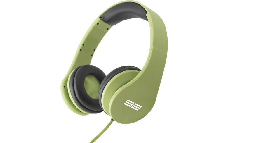 S2 Digital Cool Beat Gruen On Ear Buegelkopfhoerer