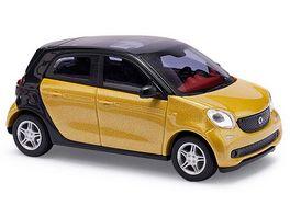 Busch 49555 Automodell Smart Forfour CMD Collection Gelb