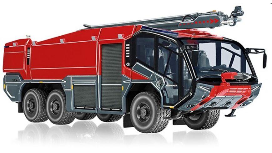 WIKING 043049 Feuerwehr Rosenbauer FLF Panther 6x6 mit Loescharm