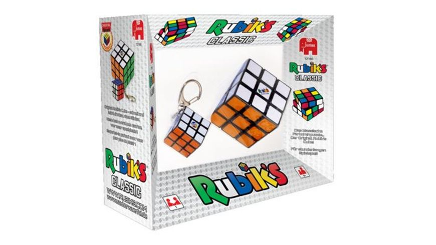 Jumbo Spiele Rubiks 2in1 3x3 and Key Chain