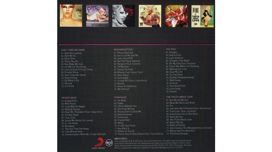 The Albums So Far