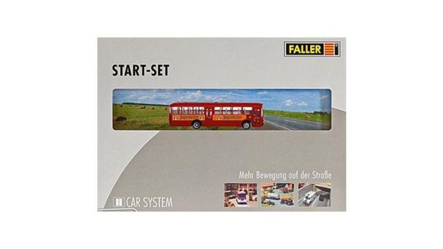 Faller 161498 H0 Car System Start Set MB O317k Bus Jaegermeister